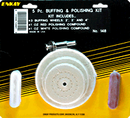 4 Piece Buffing & Polishing Kit